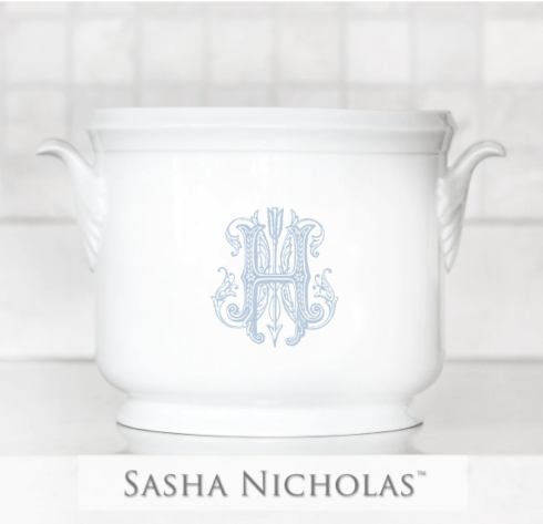 Sasha Nicholas  Custom Pieces Custom Henderson Champagne Bucket $185.00