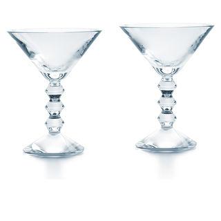 Baccarat  Vega Martini S/2 $330.00
