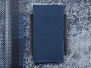 Chilewich  Linen Napkins Linen Napkins - Blue Set of 4 $38.00