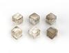 $145.00 Whiskey Cubes Smokey Quartz S/6