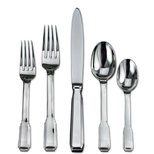 $70.00 Art Deco 5 Piece Place Setting