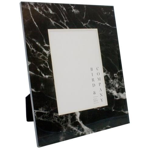 Bird & Company  Marble Frames Black Marble 4x6 $85.00