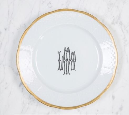 Sasha Nicholas  Weave 24k Gold Gold Weave Salad LMM Monogram $64.00