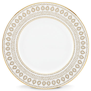 Gilded Pearl Dinner Plate