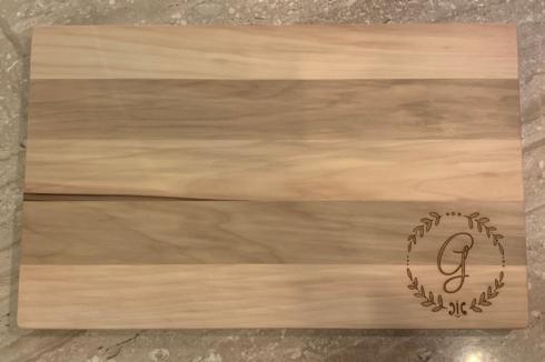 $80.00 Gum Creek Flat Grain Large *Custom* G Board