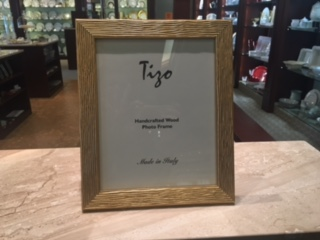 Tizo Designs   Gold Wood 8x10 Frame $51.00