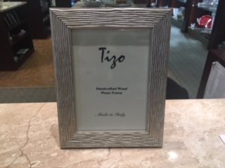 Tizo Designs   Silver Wood 5x7 Frame $43.00