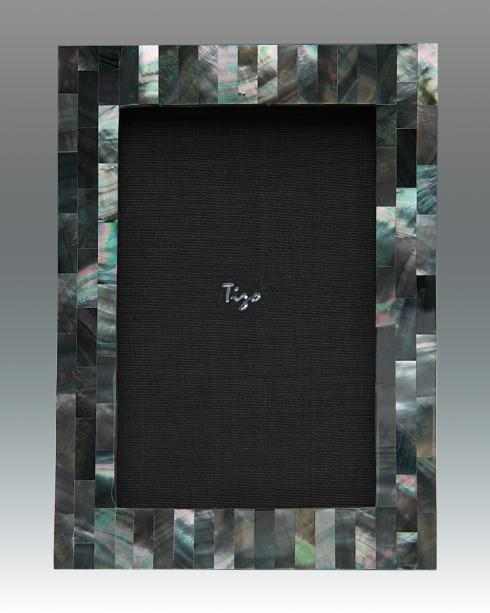 $79.00 Mother of Pearl Black 4x6 Frame