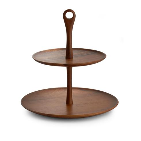 Skye Wood Tiered Dessert Stand collection with 1 products