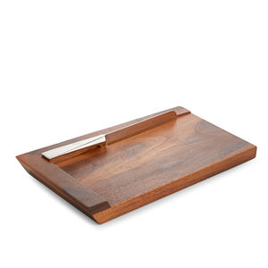 BC Clark Exclusives   Geo Challah Board W/ Knife $125.00
