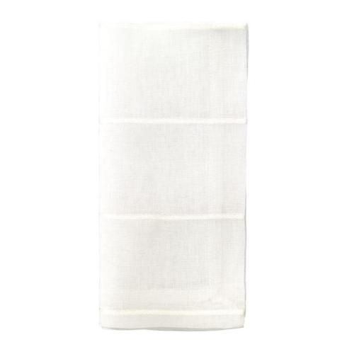 BC Clark Exclusives   Bodrum Metallic Thread Linen Napkins - Pearl Set/4  $72.00