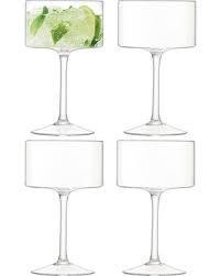 LSA International  Otis Champagne/Cocktail Glass Set/4  $50.00
