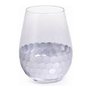 BC Clark Exclusives   Silver Leaf Stemless Wine $16.00