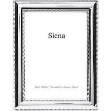 $89.00 Siena Sterling Beaded 5x7 Frame