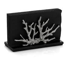 Michael Aram  Ocean  Ocean Coral Vertical Napkin Holder $89.00