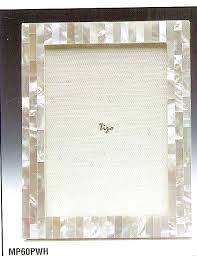 Tizo Designs   Mother of Pearl White 4x6 Frame $79.00