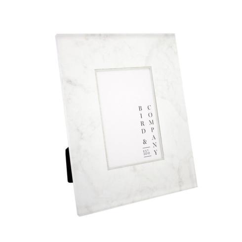Bird & Company  Marble Frames White Marble 5x7 $95.00