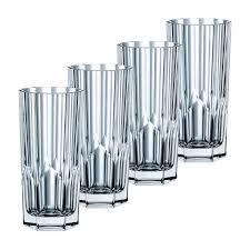 $50.00 Aspen Long Drink Glasses Set/4