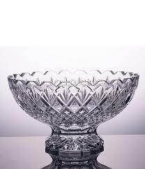 $200.00 Waterford Rosalee Footed Bowl