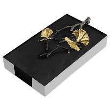 $130.00 Butterfly Ginkgo Guest Towel Holder
