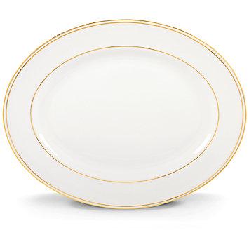 """$210.00 16"""" Oval Platter"""