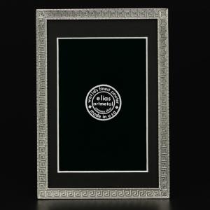 Elias Artmetal   Greek Key Pewter 4x6 Frame $84.00