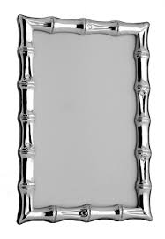 Tizo Designs   5x7 Bamboo Sterling Frame $229.00
