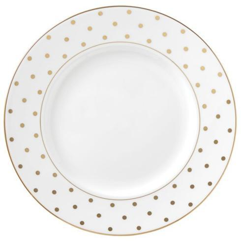 Larabee Road Gold Dinner Plate