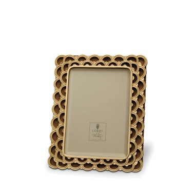 L'Objet  Frames Papiro 4x6 Gold Frame $195.00