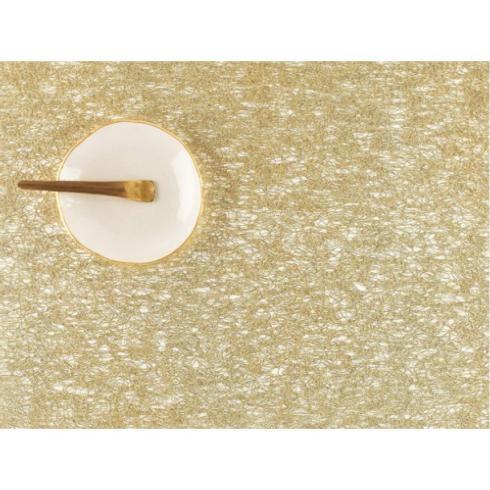 Chilewich  Metallic Lace Metallic Lace Gold Runner $115.00