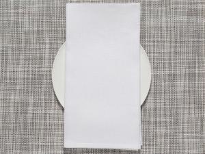Chilewich  Linen Napkins Linen Napkins - White Set of 4  $38.00