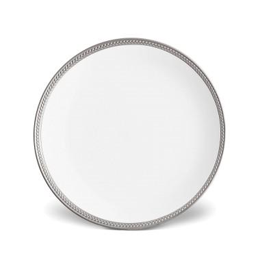 L'Objet   Soie Tressee Platinum Dinner Plate $78.00