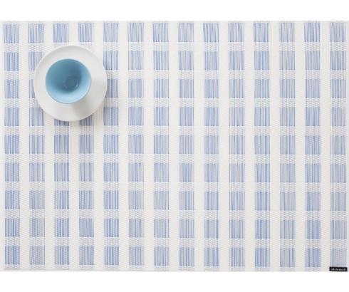 Chilewich  Stitch Stitch Lake Table Mat Set/4 $72.00