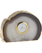 $180.00 Tempo Gold Grey Clock
