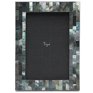 $97.00 Mother of Pearl Black 5x7 Frame