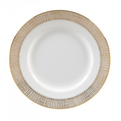 Vera Wang  Gilded Weave Gold Bread & Butter Plate $20.00