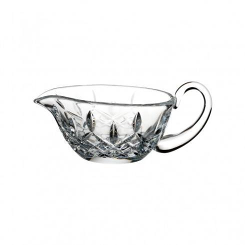 BC Clark Exclusives   Waterford Lismore Gravy Server $90.00
