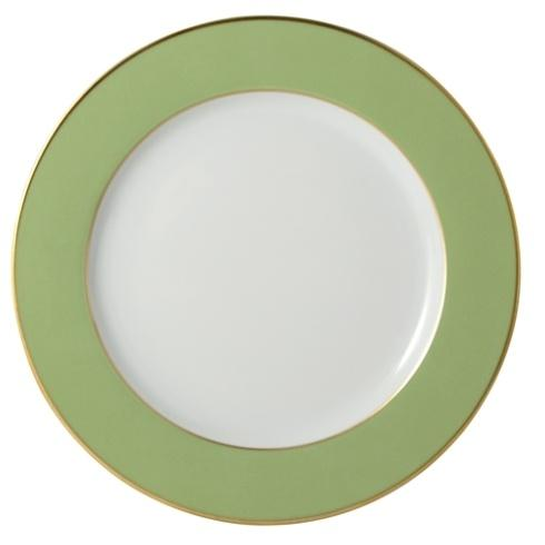 OPALINE GREEN SERVICE PLATE