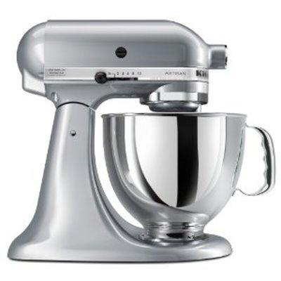 Kitchenaid  Mixers  5qt Artisan Mixer Met. Chrome $349.99