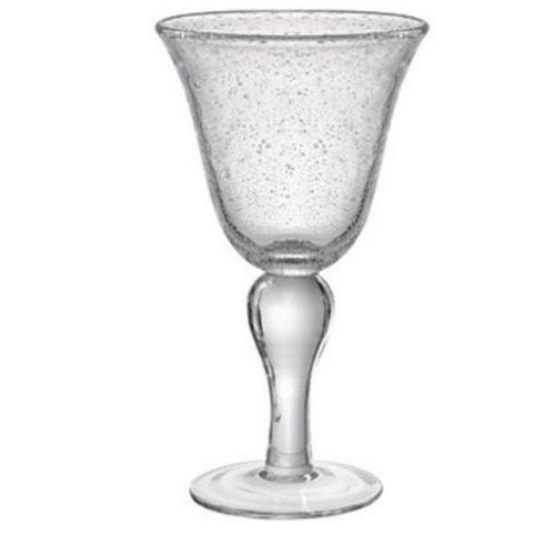 Artland  Iris Clear Iris Clear Goblet $10.00