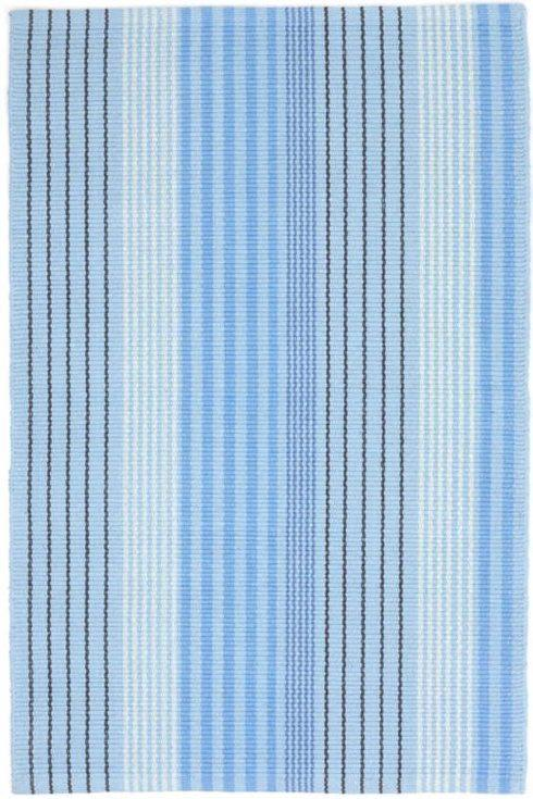 Breed & Co. Exclusives  Miscellaneous  BLUE SKY TICKING 2X3 $37.00