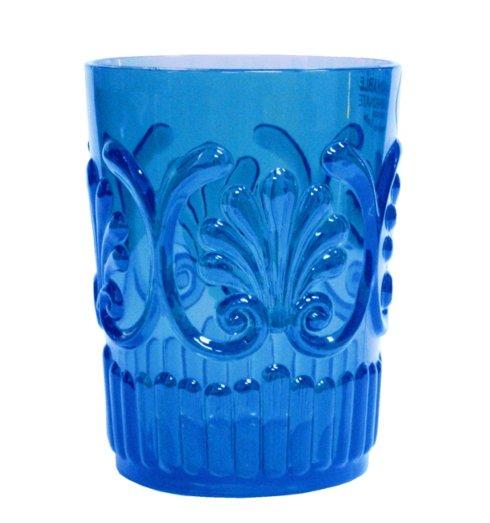 Le Cadeaux   FLUER BLUE SM TUMBLER $9.00