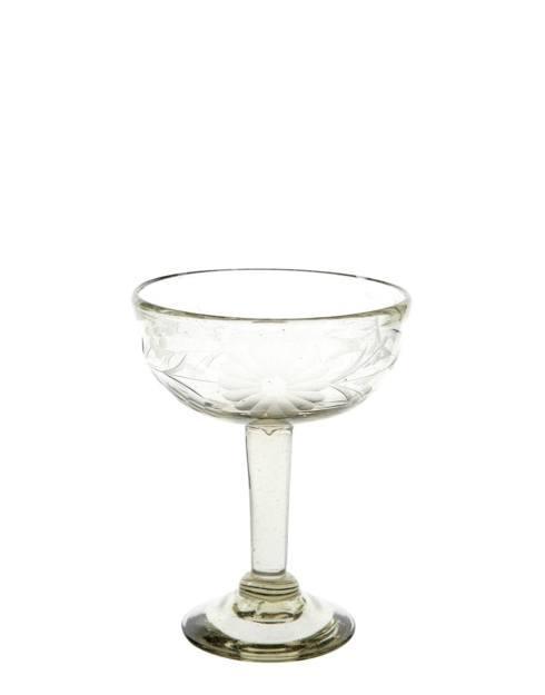 Rose Ann Hall Designs  Condessa Clear CONDESSA MARGARITA GLASS $23.00