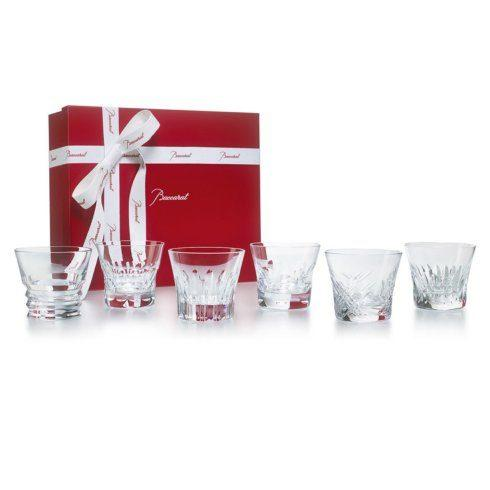 Baccarat  Drinkware Gift Sets EVERYDAY BACCARAT S/6 TUMBLERS $450.00