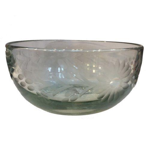 Rose Ann Hall Designs  Condessa Clear SERVING BOWL CONDESSA CLEAR $47.50