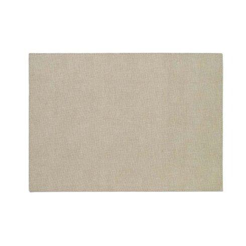 Bodrum  Placemats  Presto Oatmeal Rectangular Placemat $20.00
