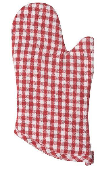 Now Designs  Pot Holders GINGHAM RED MITT $10.00