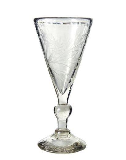 Jan Barboglio  Serveware  Frances Goblet Clear $105.00