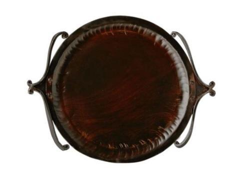 Jan Barboglio  Serveware  Luciana Round Tray with Handles $515.00