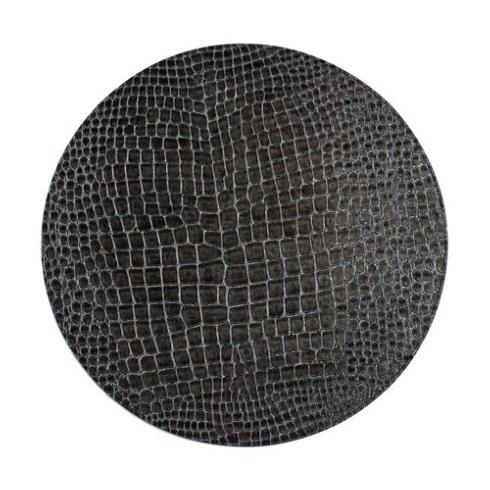Bodrum  Placemats  Gator Charcoal 16